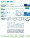 Captura de Acta Sanitaria: Médicos y pacientes construyen la primera enciclopedia médica virtual en Internet