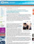 Captura de SINC: La tecnología española, presente en el Congreso Mundial de Medicina Interna