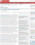 Captura de El Norte de Castilla: Doctor Google