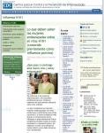 Captura de http://www.cdc.gov/h1n1flu/espanol/embarazada/mujeres-embarazadas-y-h1n1.htm